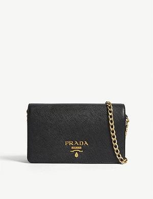 PRADA Core Saffiano leather wallet-on-chain 848d7ba5f1c60