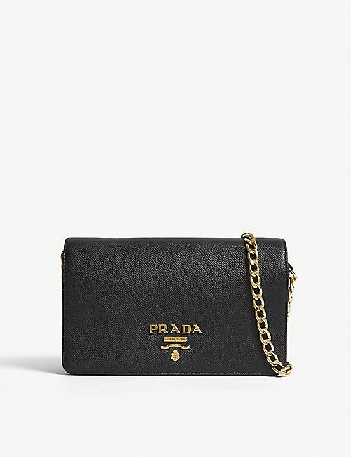 940215ef0c1 PRADA - Core Saffiano leather wallet-on-chain