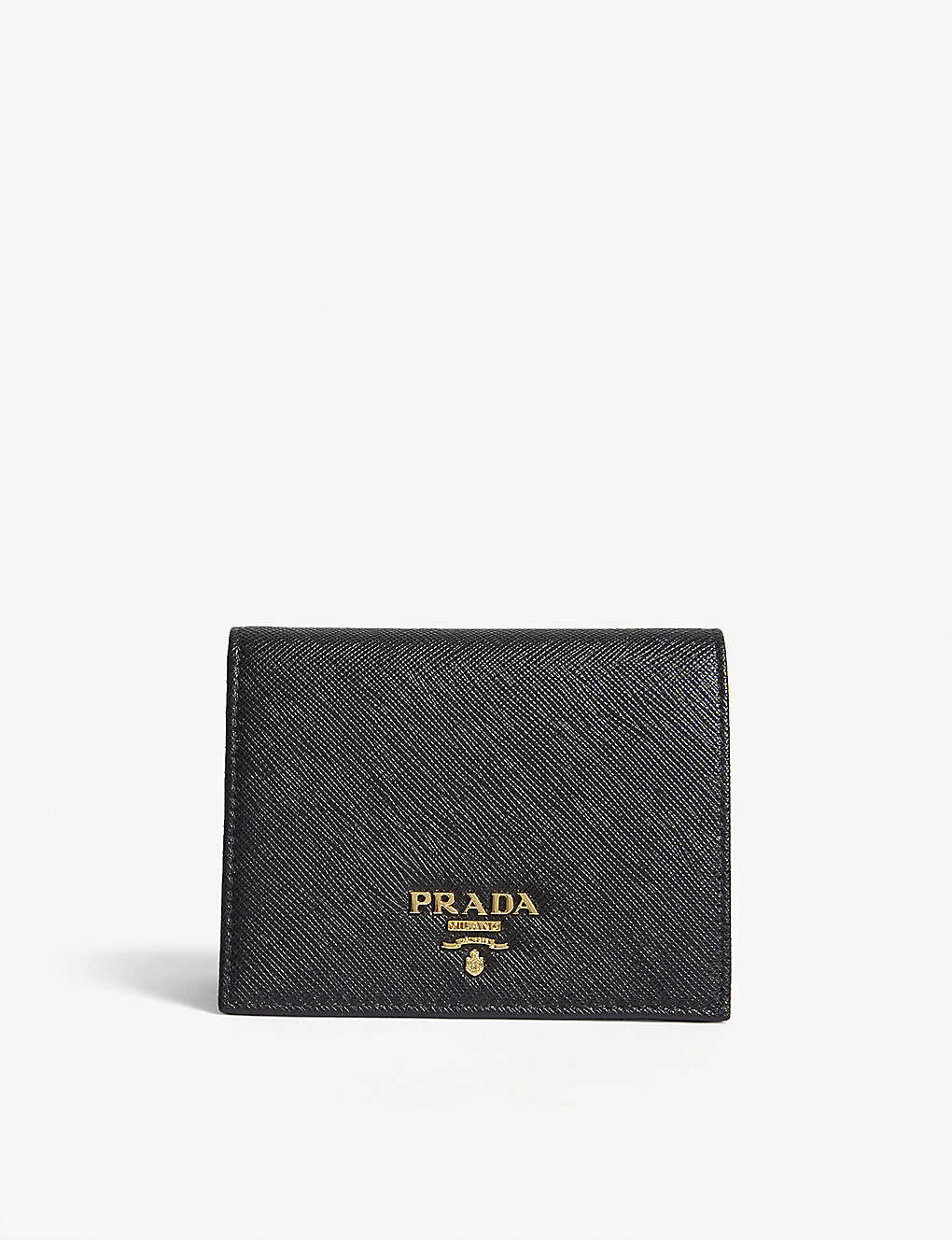 6b0f61b74a9892 PRADA - Logo small Saffiano leather purse | Selfridges.com