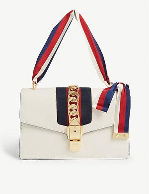 01e1b29a4352 GUCCI - Marmont matelassé leather shoulder bag