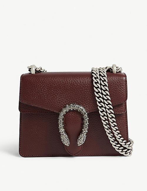 GUCCI Dionysus mini leather shoulder bag