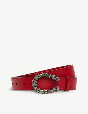 GUCCI Dionysus leather belt