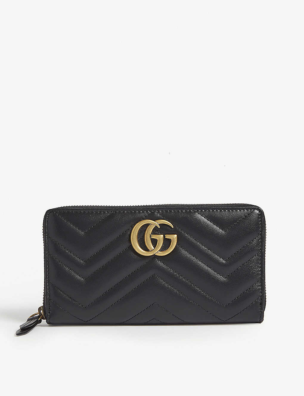 GUCCI: GG Marmont quilted leather wallet