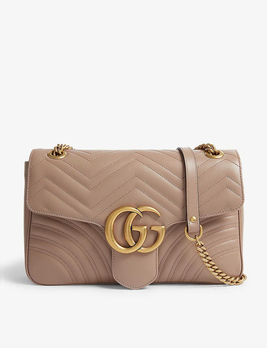 d061624f24a GG Marmont leather shoulder bag - Porceline rose ...