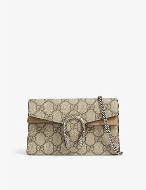 GUCCI GG Supreme Dionysus super mini shoulder bag