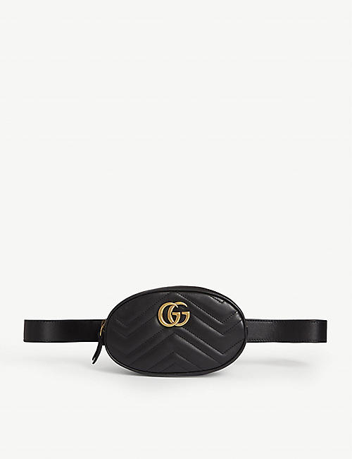 GUCCI Marmont leather belt bag