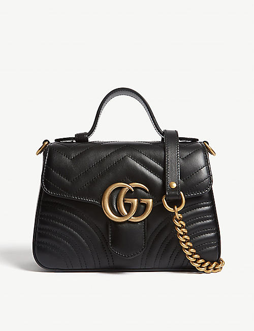 a3485604dc7 GUCCI Mini Marmont shoulder bag