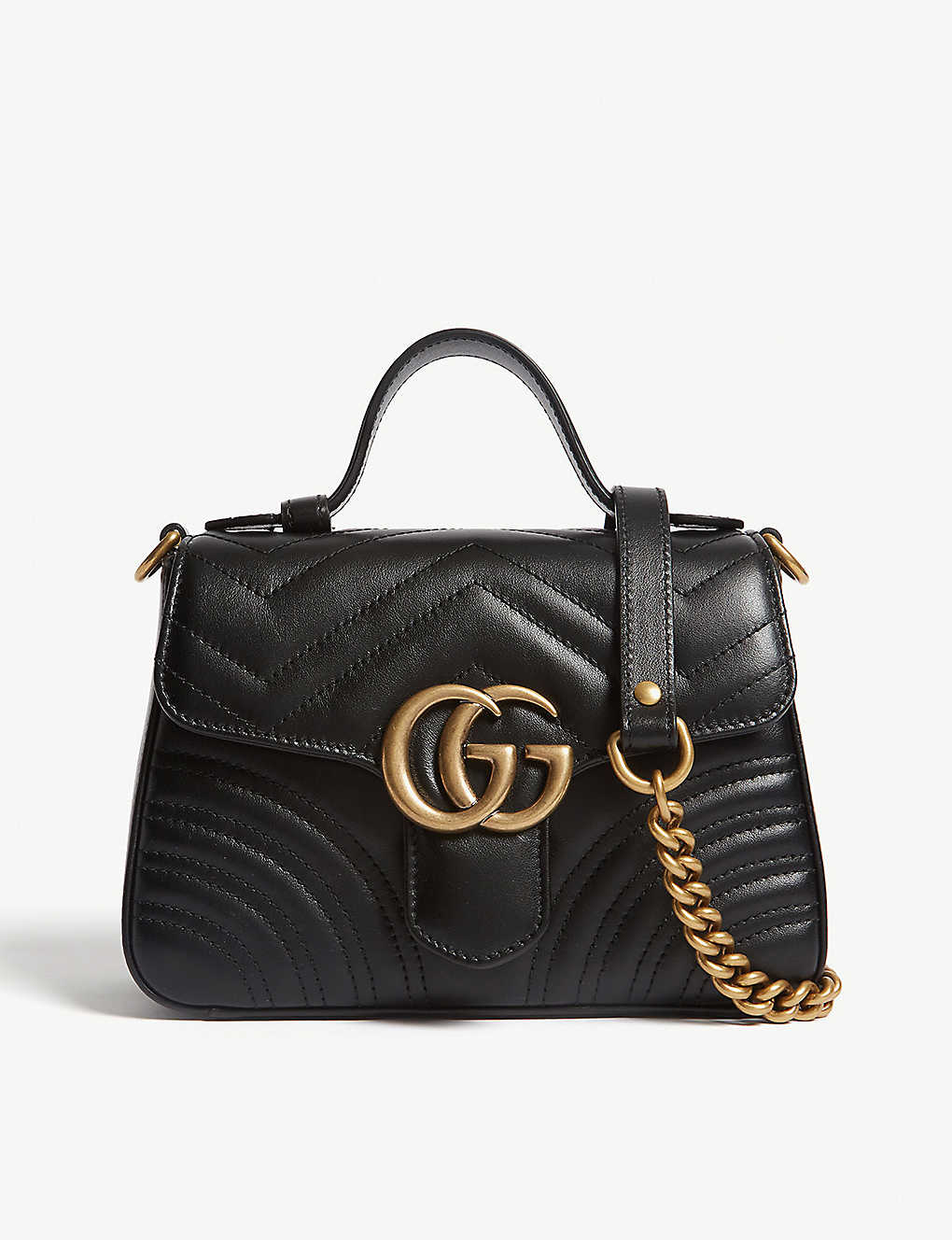 GUCCI: Mini Marmont shoulder bag