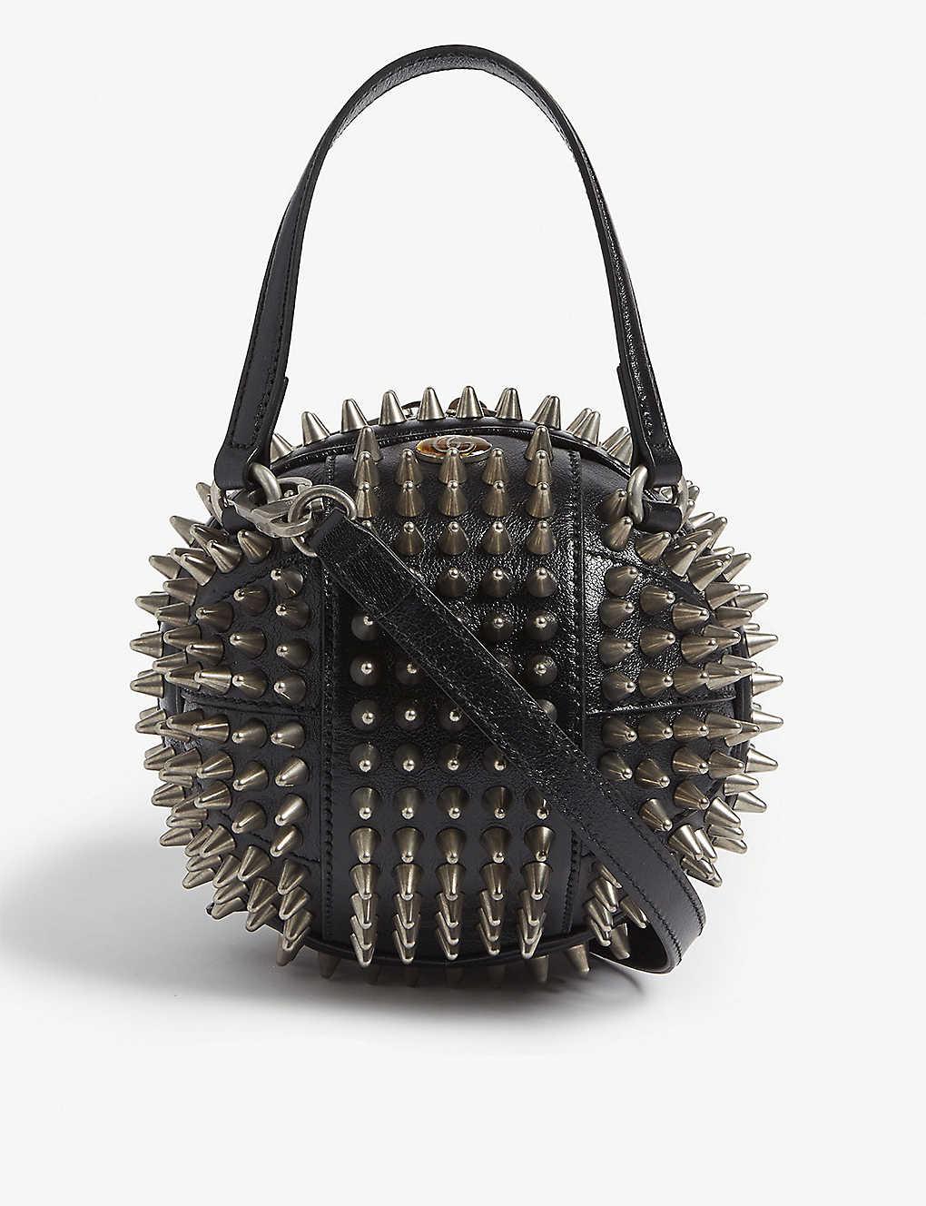 732a2f4cc97b GUCCI - Spike Basketball shoulder bag | Selfridges.com