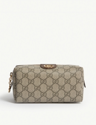 GUCCI Ophidia coated canvas cosmetic case