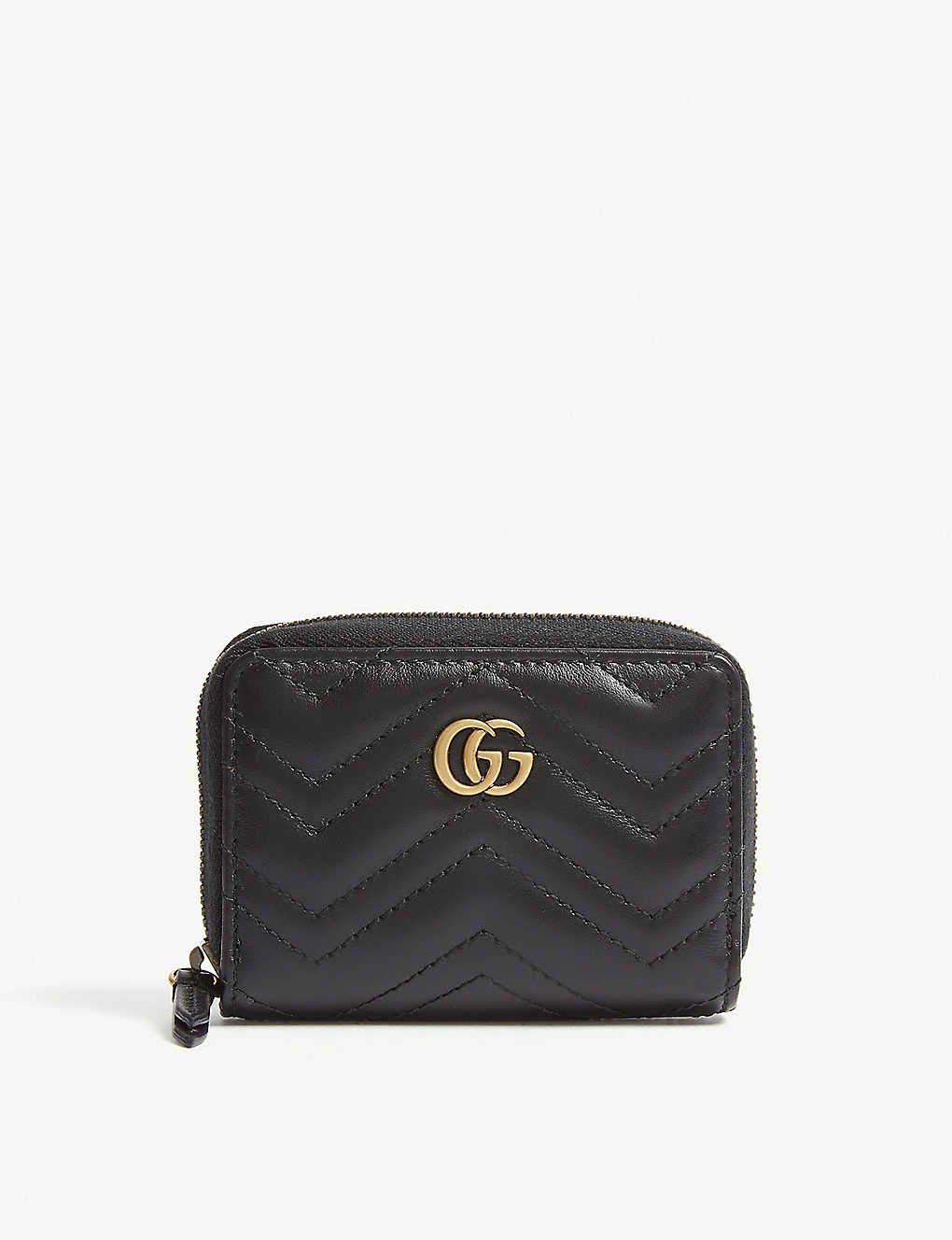 110310a8412d8c GUCCI - Marmont matelasse leather concertina purse | Selfridges.com