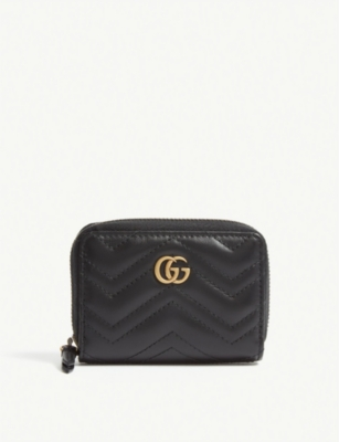 GUCCI Marmont matelasse leather concertina purse