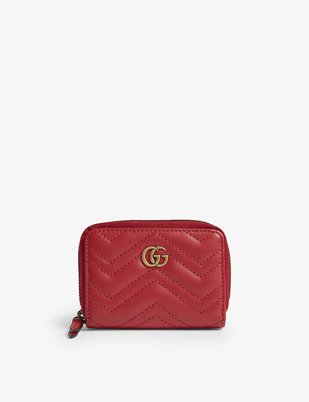 1fb56f229a438f GUCCI - Marmont zip around wallet | Selfridges.comm