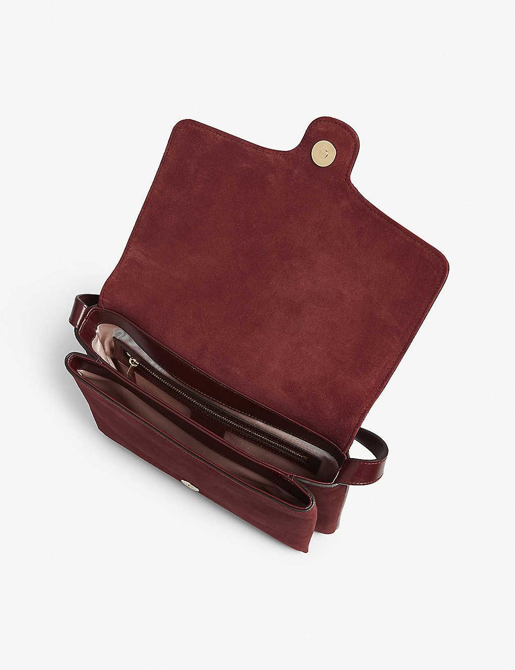 9eef2389b6b ... Arli shoulder bag - Burgendy