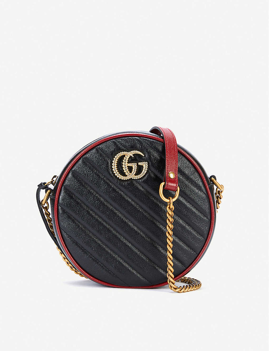 cdf1eafdf GG Marmont mini round shoulder bag