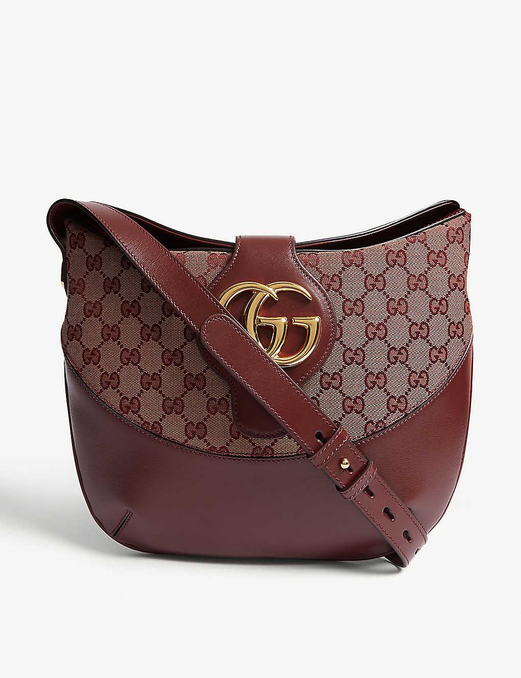 0e392deaf GUCCI - Arli leather shoulder bag | Selfridges.com