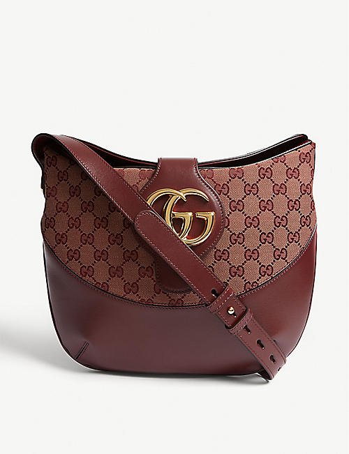 5c4d9fe866 GUCCI Arli leather shoulder bag