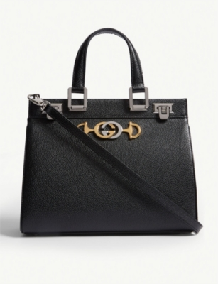 GUCCI Linea Borghese leather shoulder bag