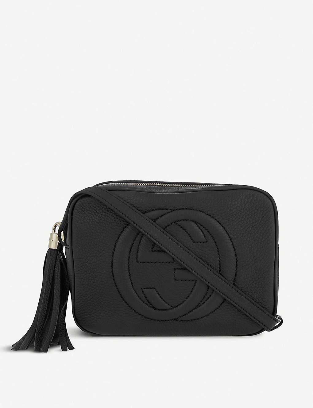 cf309e547526 GUCCI - Soho leather cross-body bag | Selfridges.com