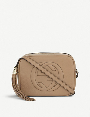 8f65dacd0 GUCCI - Soho leather cross-body bag | Selfridges.com