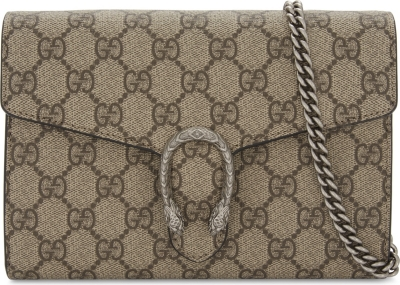 3235d5a0155 GUCCI - Dionysus GG Supreme wallet-on-chain