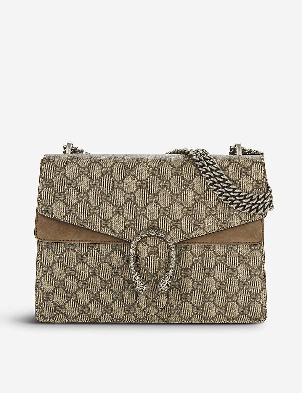0a07beb52245 GUCCI - Dionysus medium GG Supreme shoulder bag | Selfridges.com
