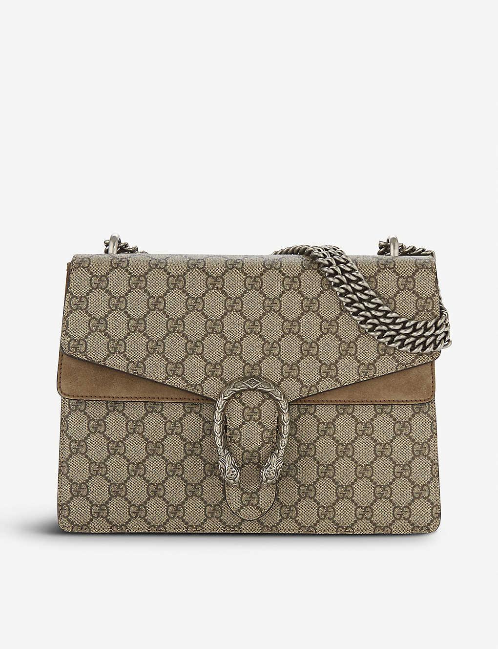 Gucci Dionysus Medium Gg Supreme Shoulder Bag