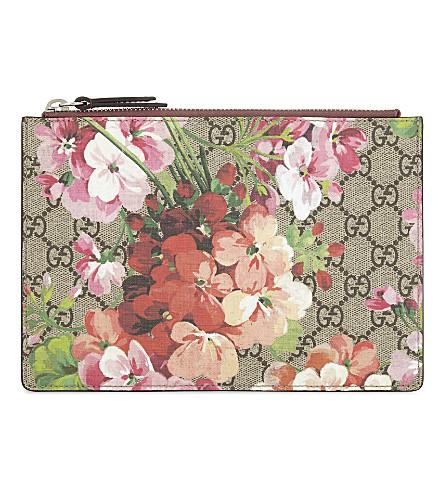ced676124cc62e GUCCI - GG Blooms pouch | Selfridges.com