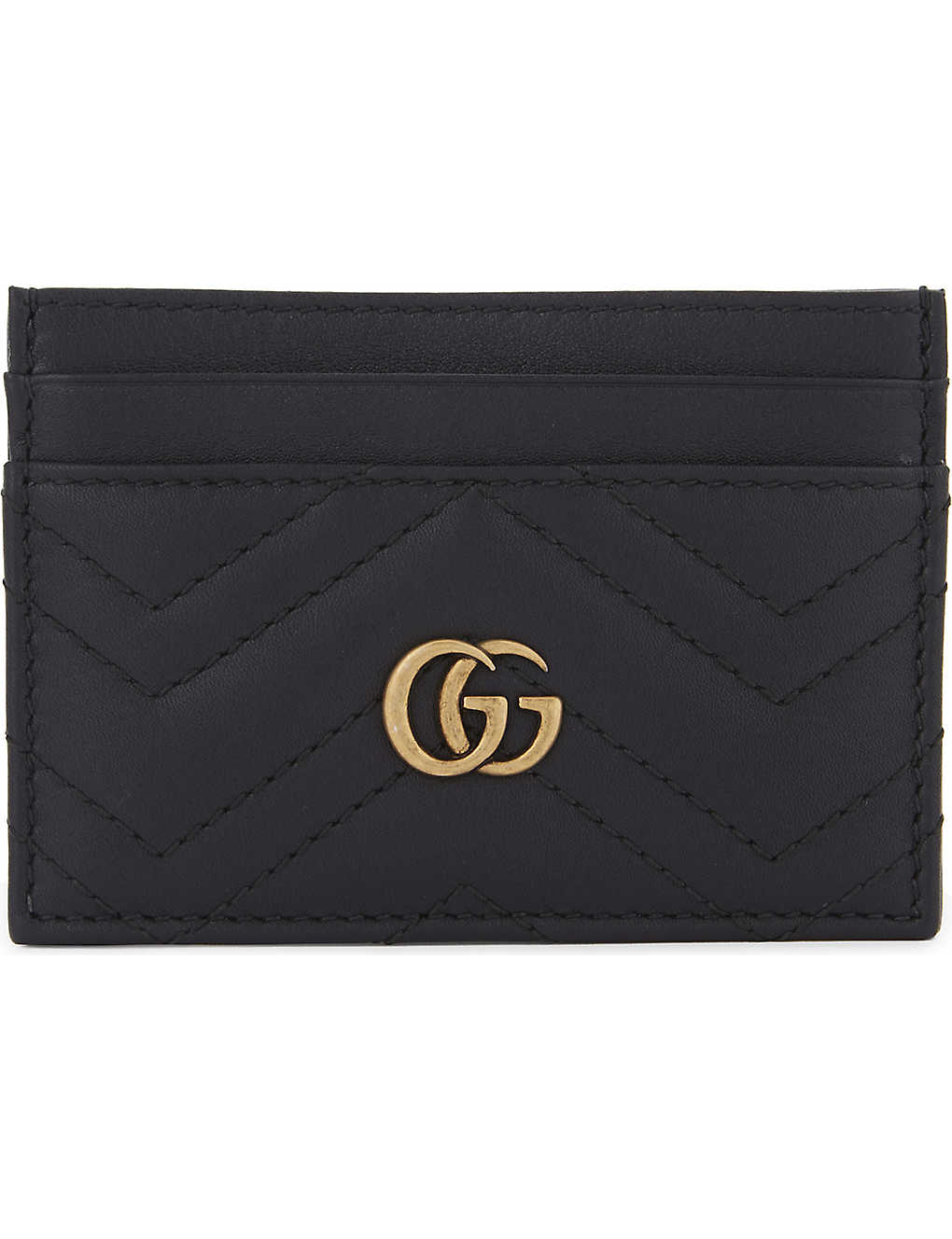 24c55877e4ad0c GUCCI - GG Marmont leather card holder | Selfridges.com