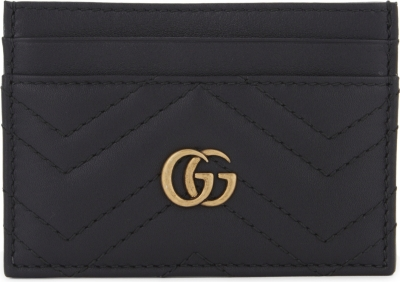 7ad274898a8a GUCCI - GG Marmont leather card holder | Selfridges.com