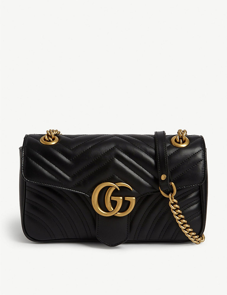 promo codes get new the cheapest Marmont leather shoulder bag