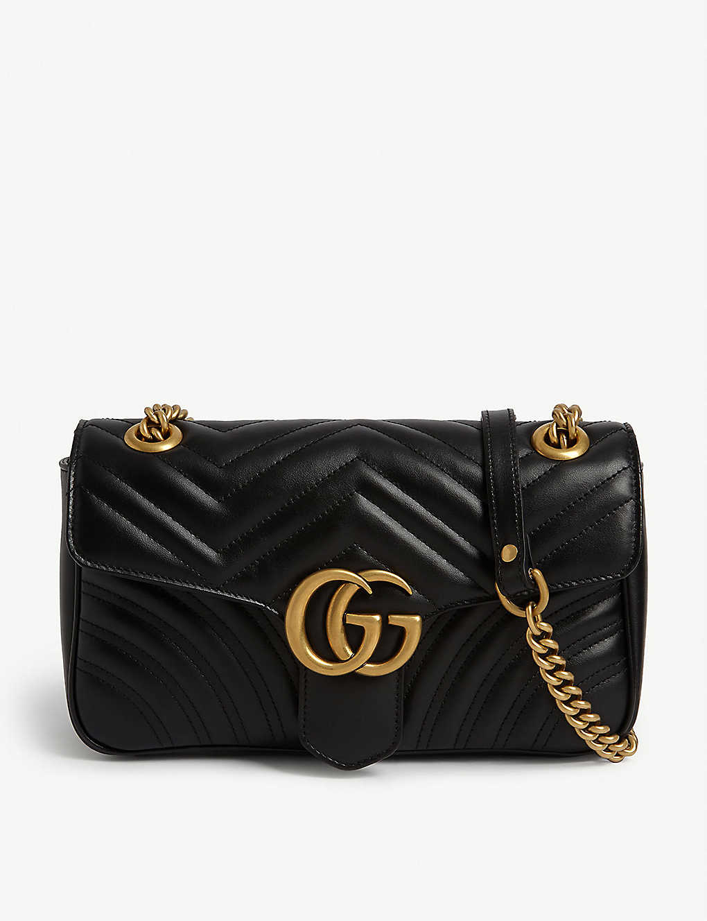 GUCCI: Marmont leather shoulder bag