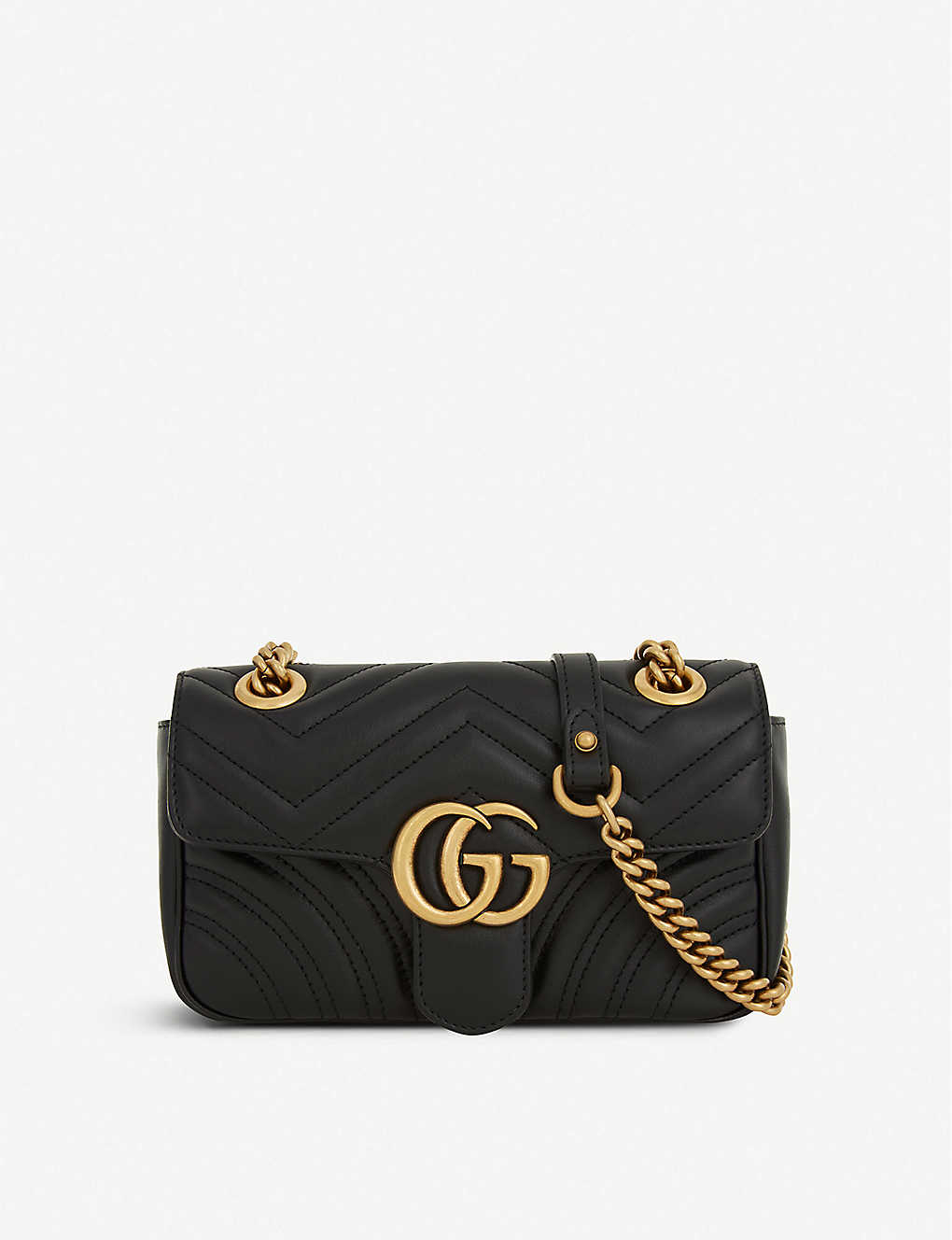 0d68021b8729 GUCCI - Marmont GG mini leather cross-body bag | Selfridges.com