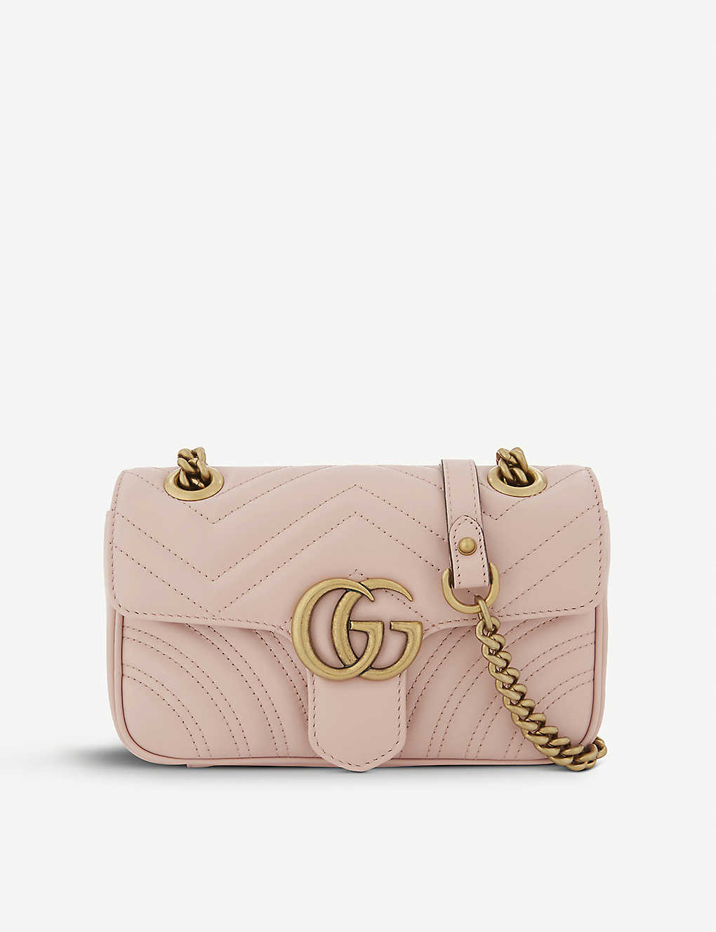 4899f64d9aba GUCCI - Marmont GG mini leather cross-body bag | Selfridges.com