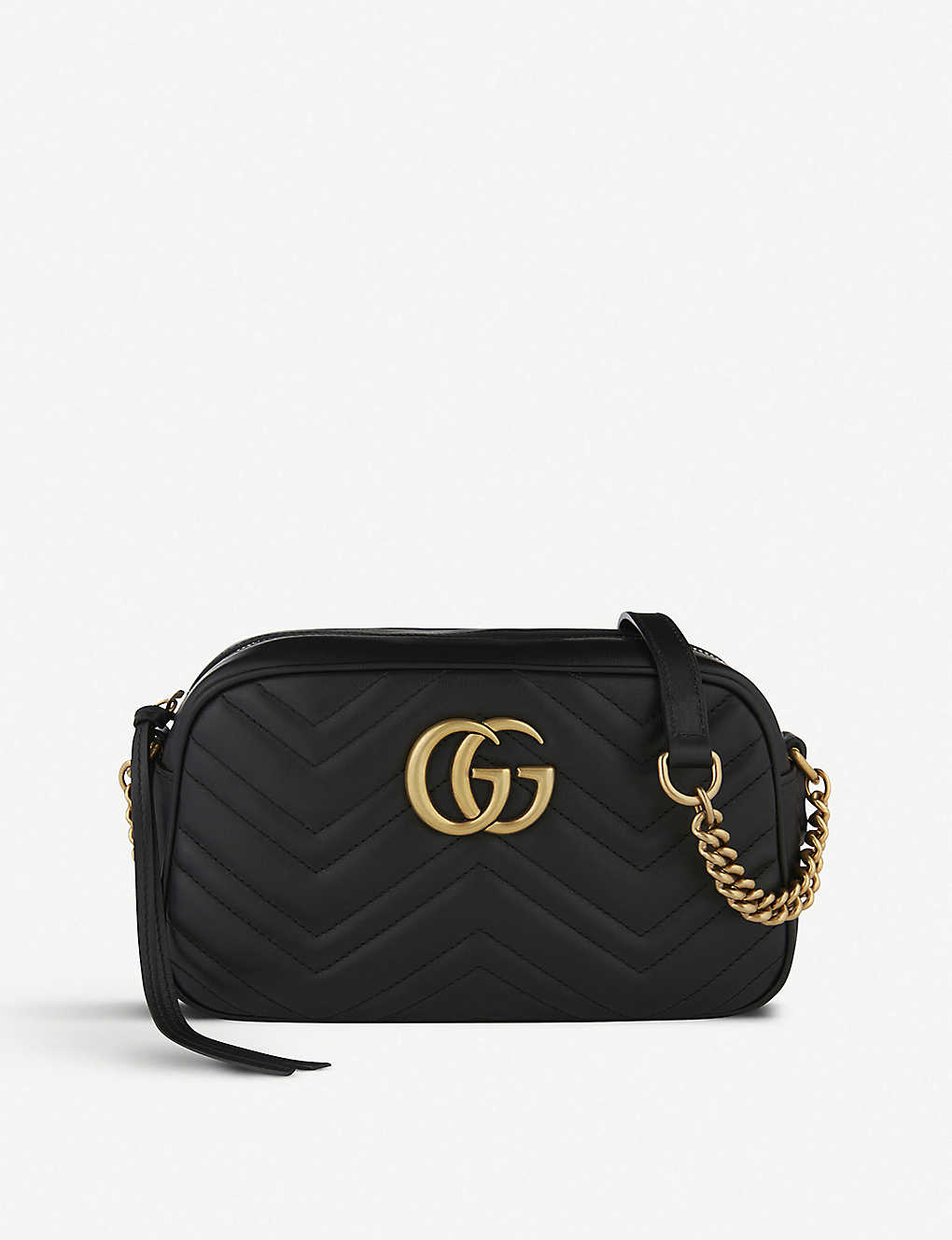 cf779b9bd606e9 GUCCI - Marmont matelass? leather shoulder bag | Selfridges.com