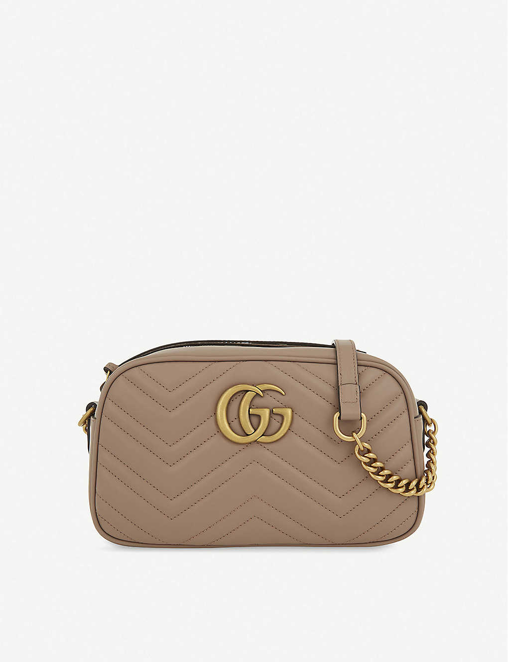 ec43441d1fc3ff GUCCI - Marmont leather shoulder bag | Selfridges.com