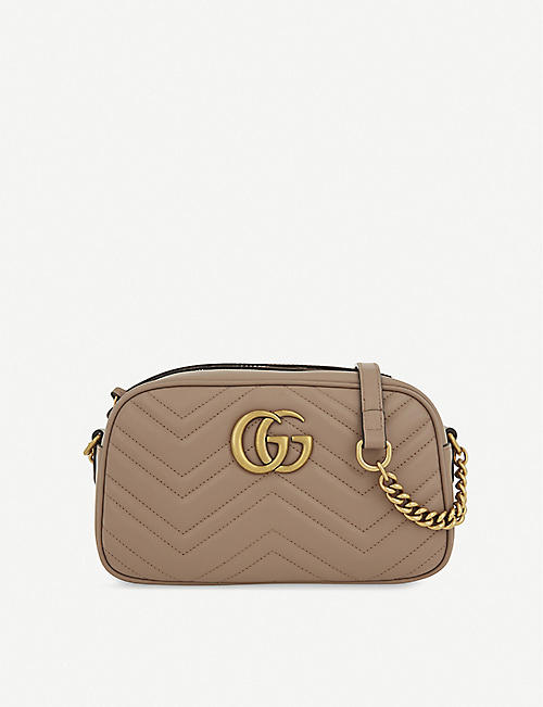 e95f60fc2ea GUCCI Marmont leather shoulder bag