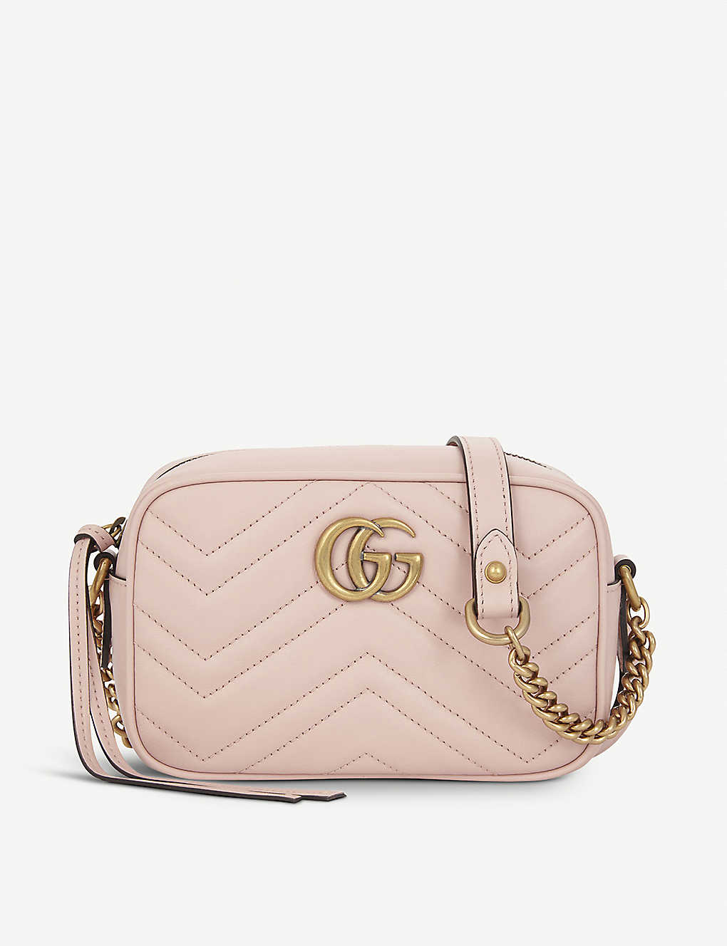 f624c027c30795 GUCCI - GG Marmont small quilted leather camera cross-body bag ...