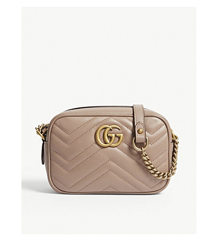 0c338f5fff8be GUCCI - Marmont leather cross-body bag
