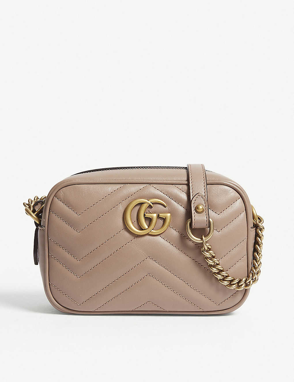 12b841e8dcac GUCCI - Marmont leather cross-body bag | Selfridges.com