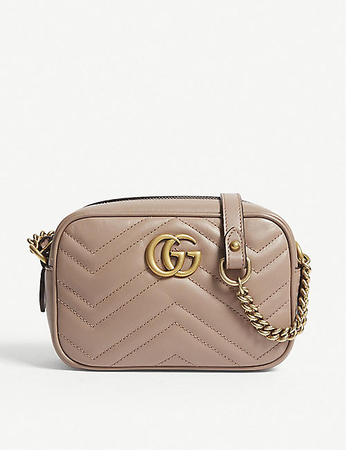 9b6acfe774a GUCCI Marmont leather cross-body bag