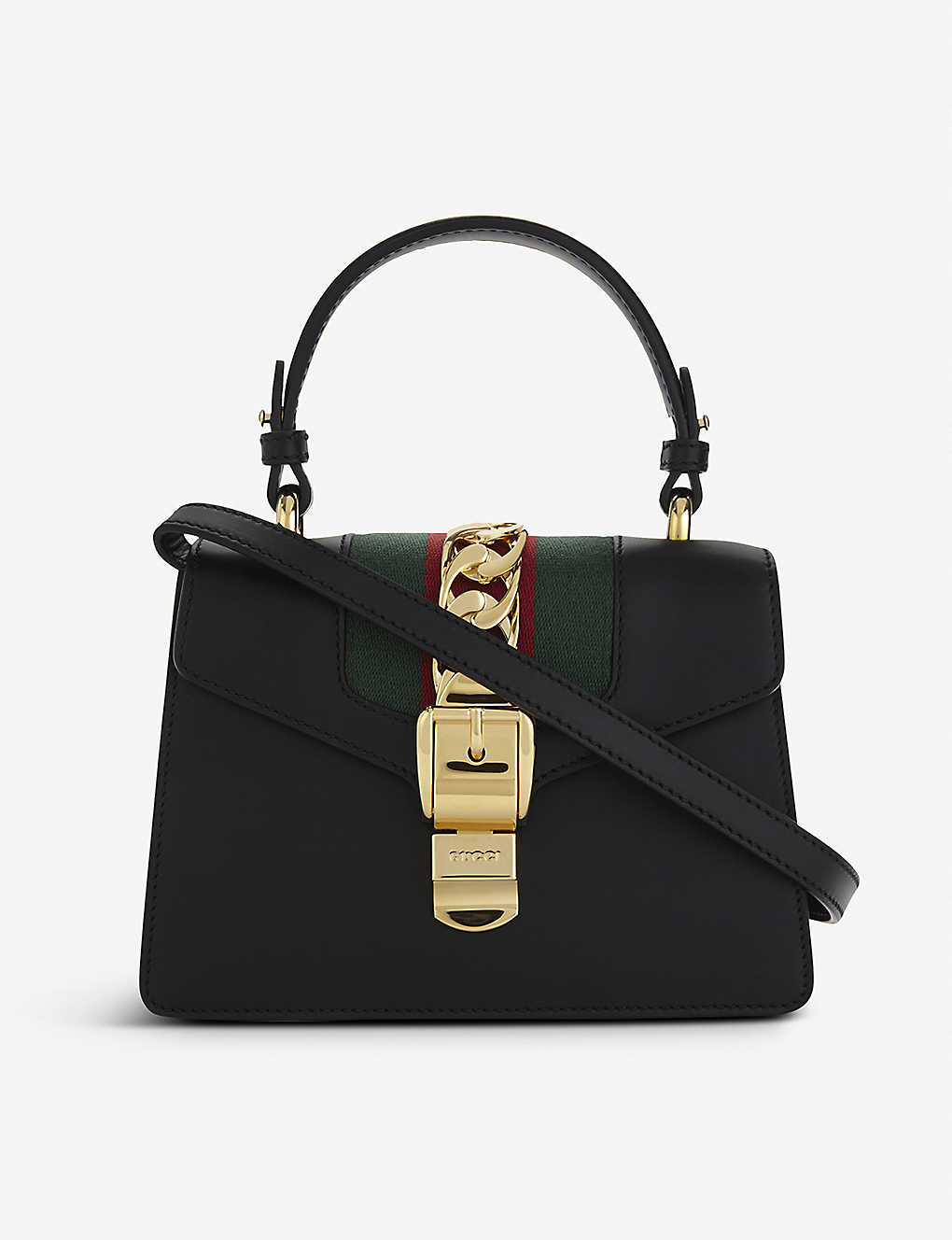 7ccd8d61f95a GUCCI - Sylvie leather cross-body bag | Selfridges.com