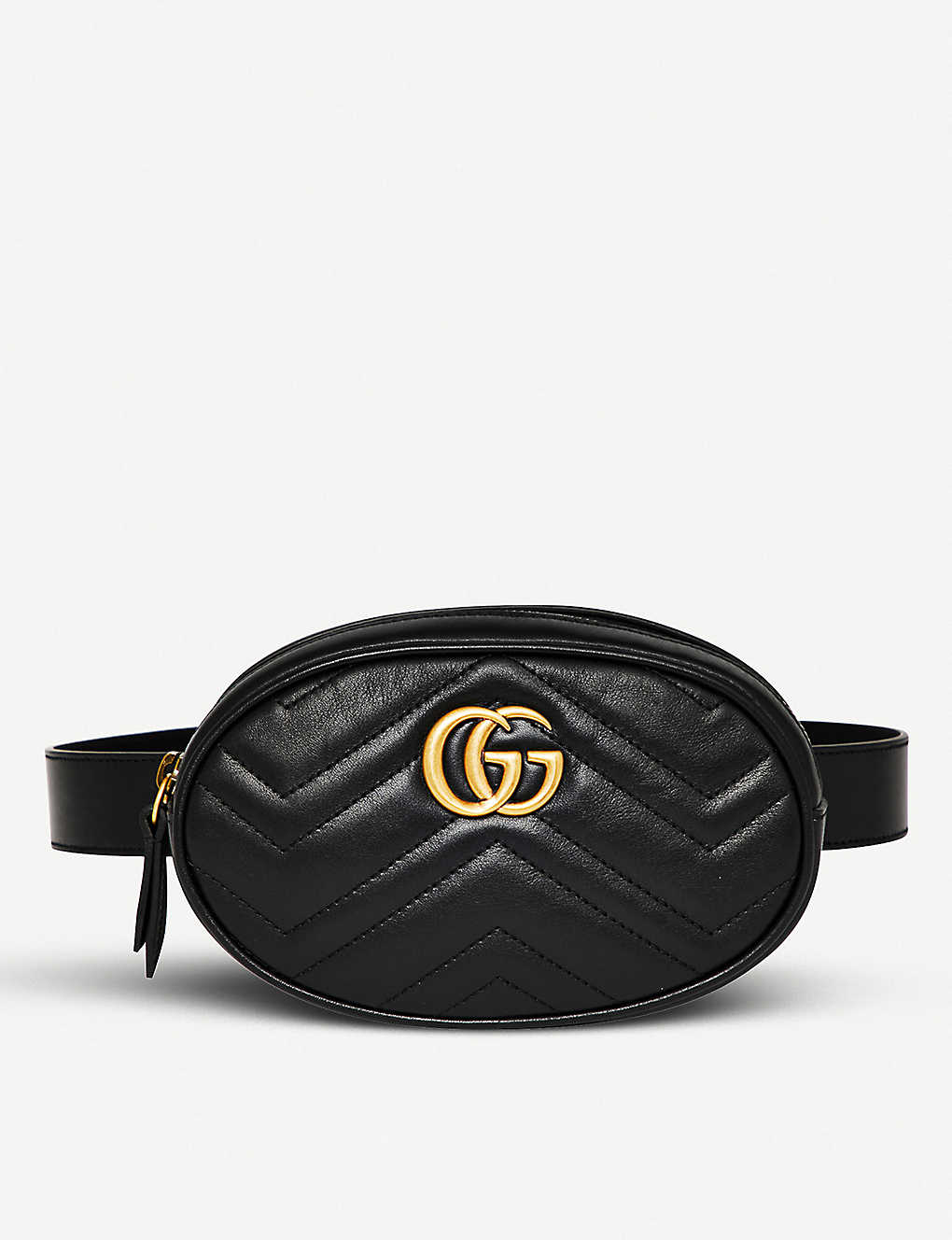 e07b26ac8ed492 GUCCI - Marmont quilted leather belt bag | Selfridges.com