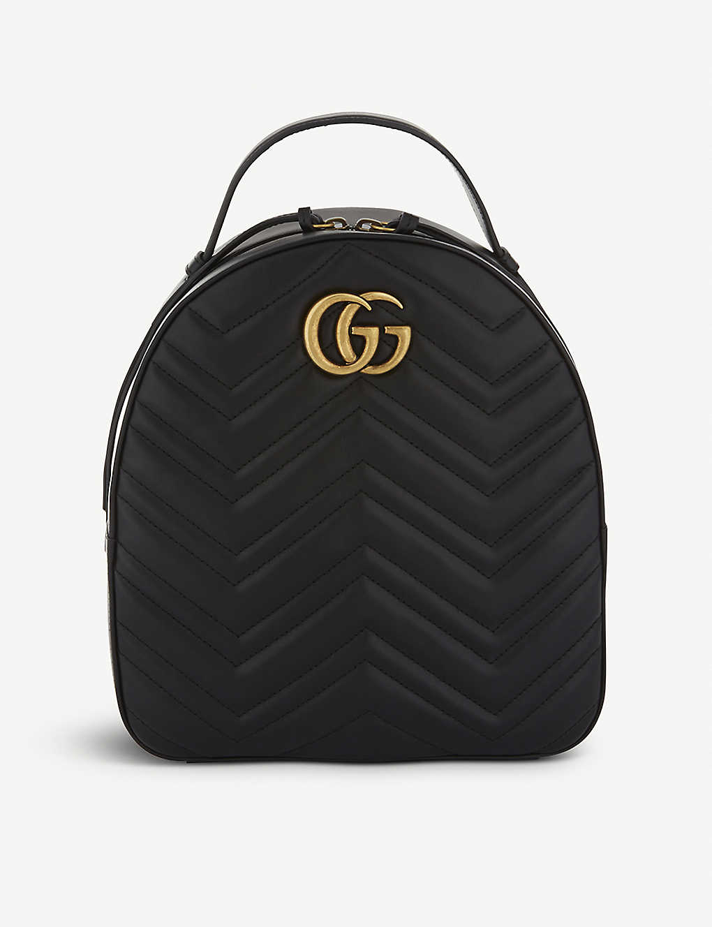 031c8779d3e8 GUCCI - GG Marmont quilted leather backpack | Selfridges.com
