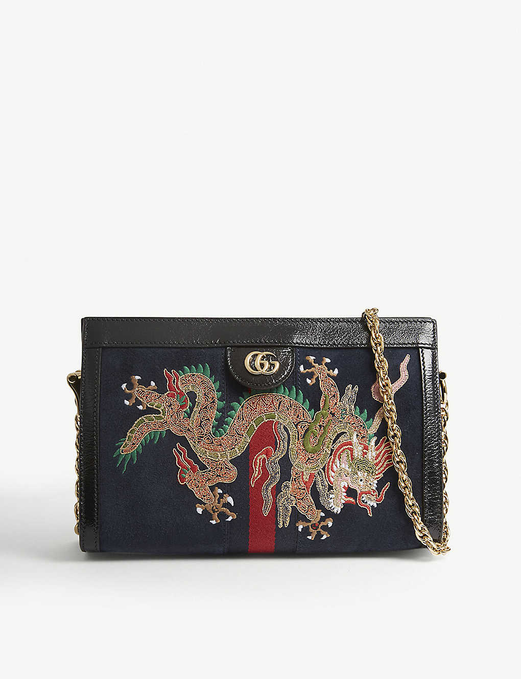 70fc478203a GUCCI - Ophidia embroidered small shoulder bag