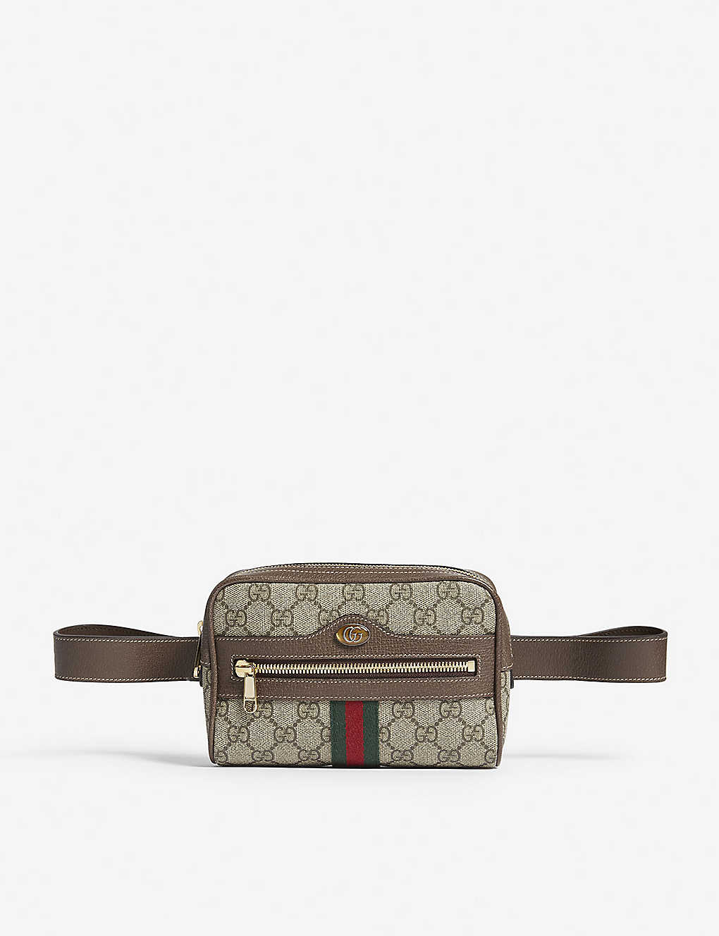 50579b8ae9e0 GUCCI - GG Supreme belt bag | Selfridges.com