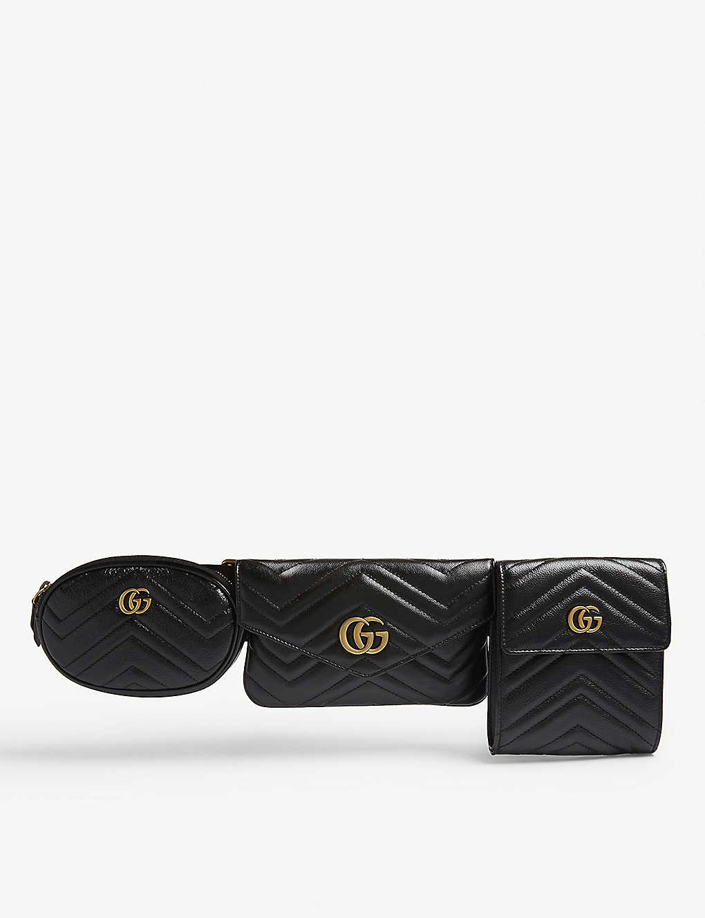 3c6157ba61e3 GUCCI - GG Marmont matelassé leather multi belt bag | Selfridges.com