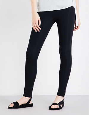 HELMUT LANG High-rise stretch-jersey leggings