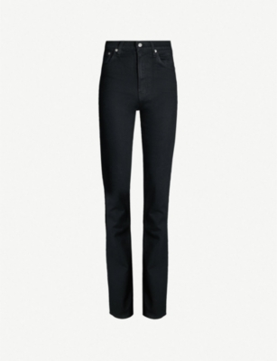 HELMUT LANG Straight high-rise jeans