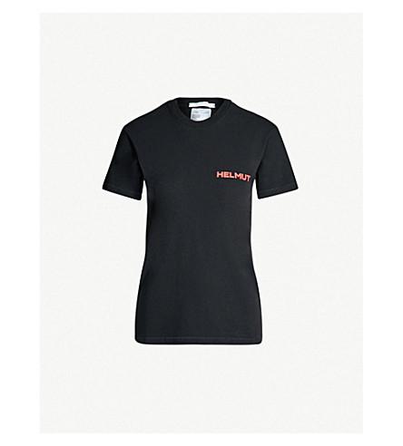5ecb8546 HELMUT LANG - Logo-print cotton-jersey T-shirt | Selfridges.com